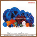 Wire drawing cable reels